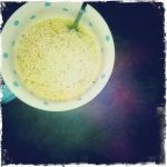 Girls should never be, but 2 min noodles DEF should: CHEAP & EASY!