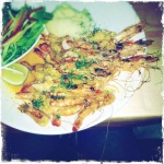 Prawns at Salero in V&A - so good and lovely place!